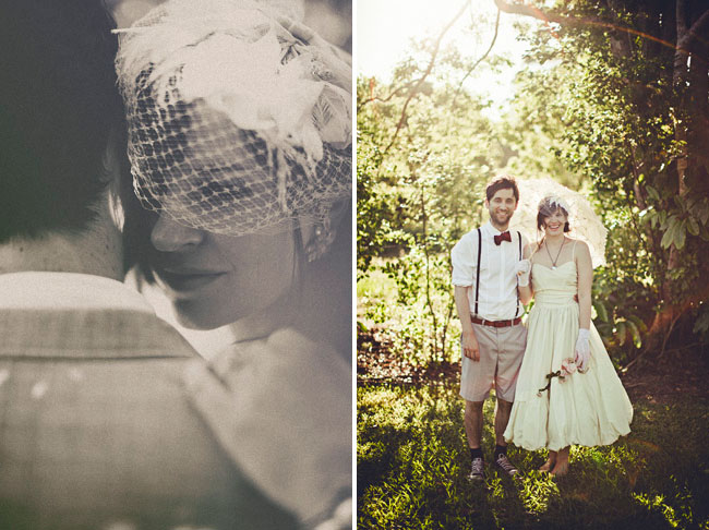 art deco outdoor wedding
