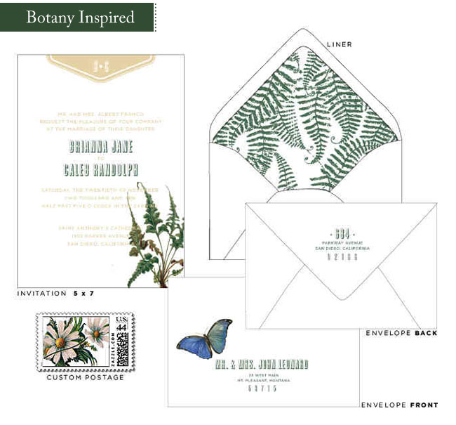 Wedding Invitation Giveaway: New Wedding Invitations From Paisley Quill + A Giveaway