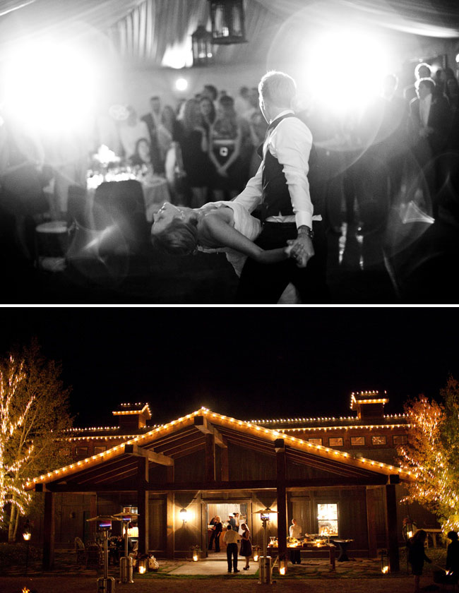 park city barn wedding