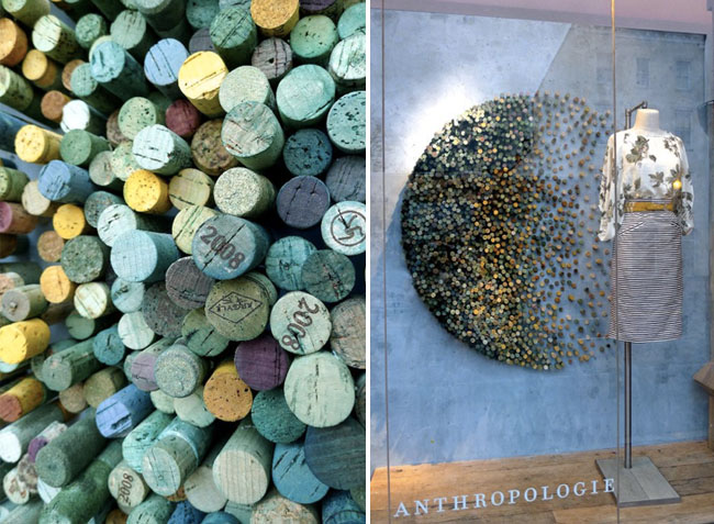 anthropologie cork art