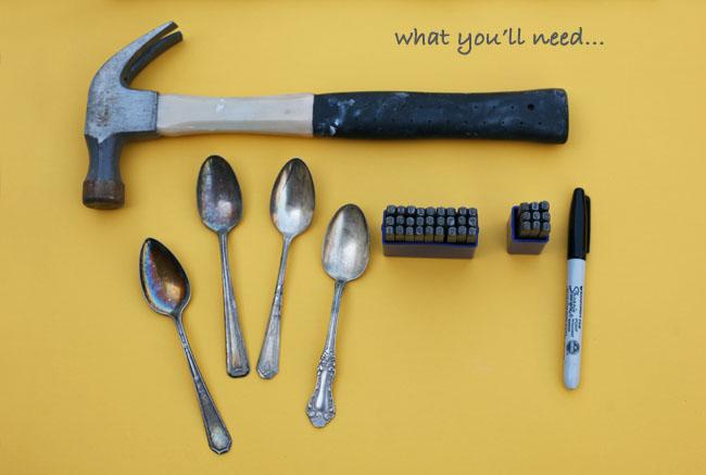 diy vintage spoons names