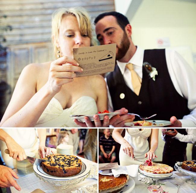 wedding pie