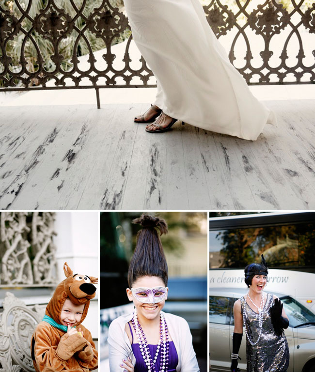 Real Weddings News: Real Wedding: Lori + Anthony's New Orleans Halloween