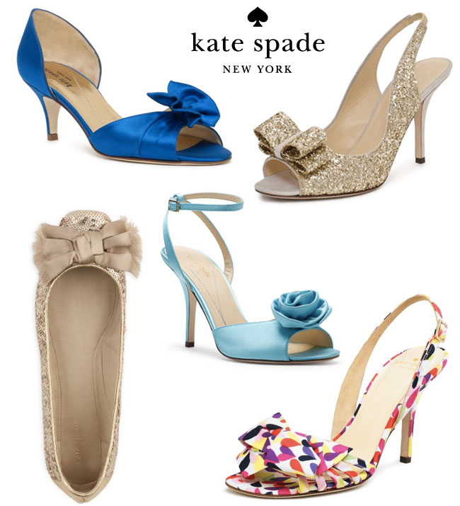 Kate spade wedding shop green wedding shoes weddings fashion gold wedding shoes check out the entire kate spade junglespirit Images