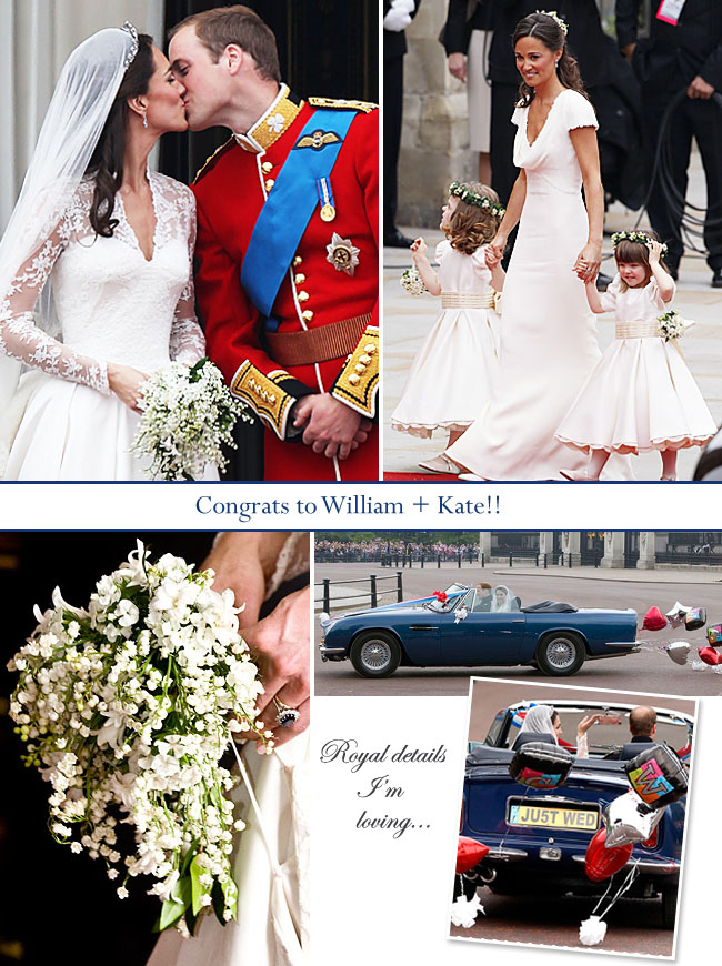 kate middleton wedding fashion