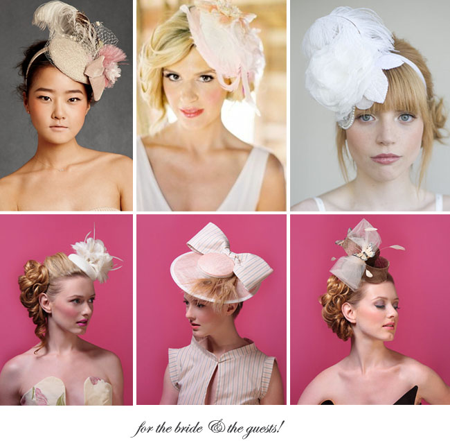 fascinators for your wedding