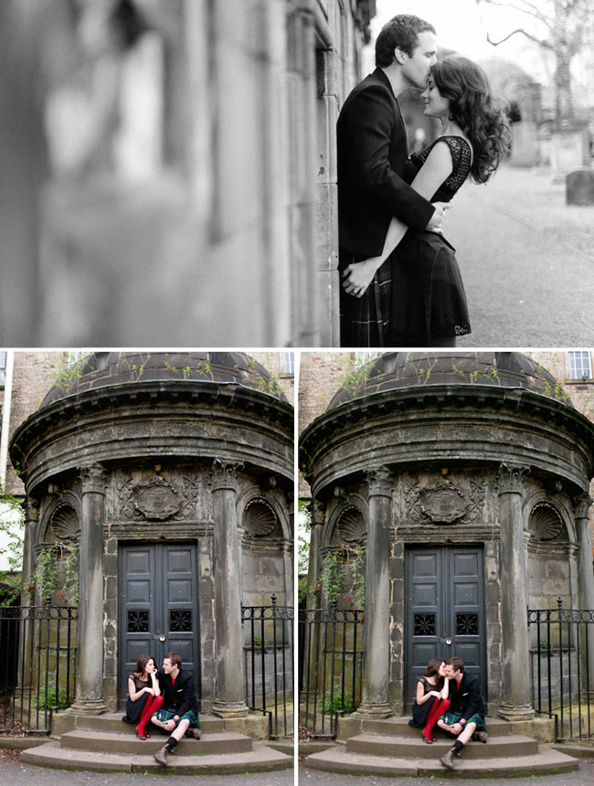 scotland engagement photos