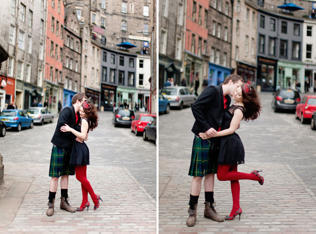 scottish engagement photos