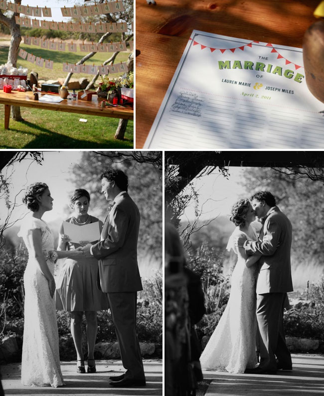 outdoor texas wedding