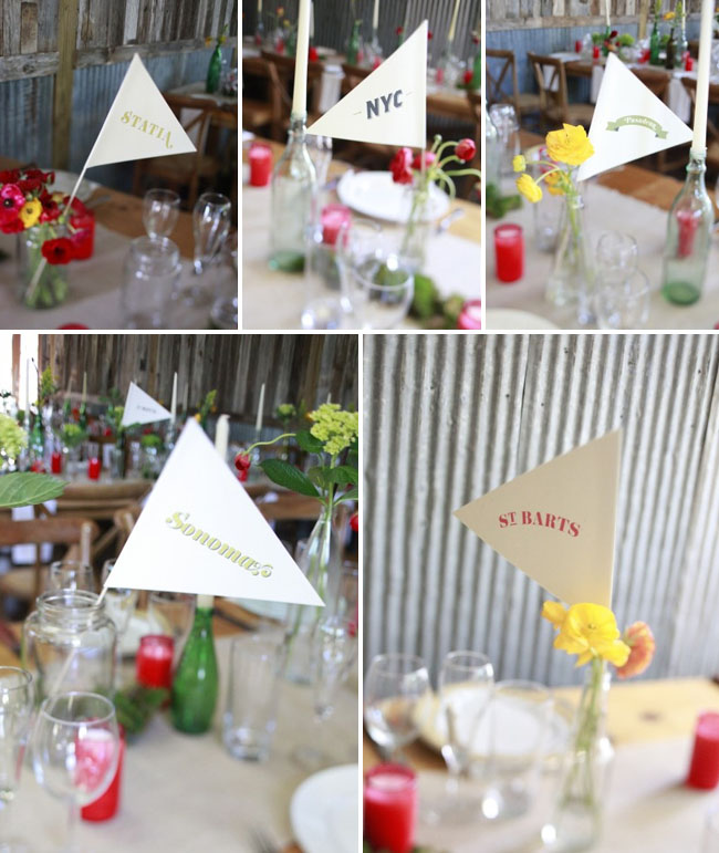 table flag numbers
