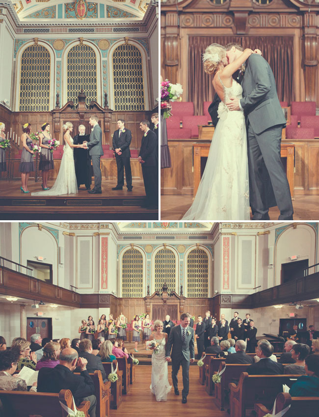 gorgeous church wedding