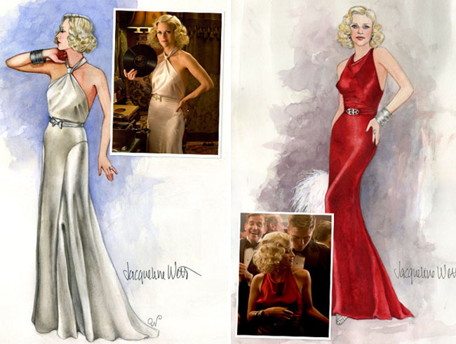 water for elephants gowns