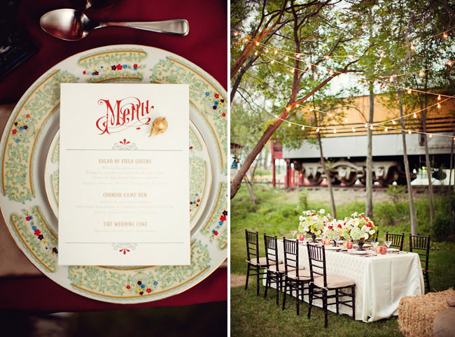 water for elephants wedding ideas