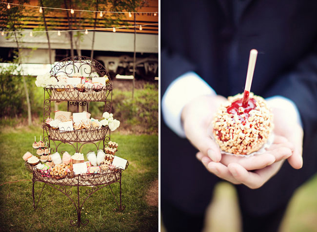 dessert station wedding carnival