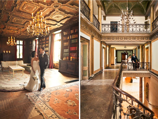 abandoned mansion wedding