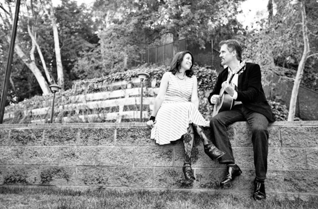 music inspired engagement photos