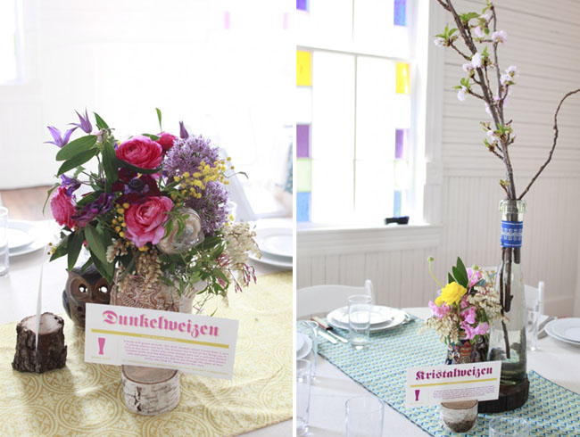 wedding colorful decorations