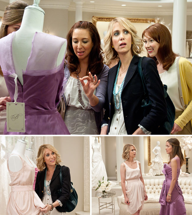 bridesmaids movie bridal shop