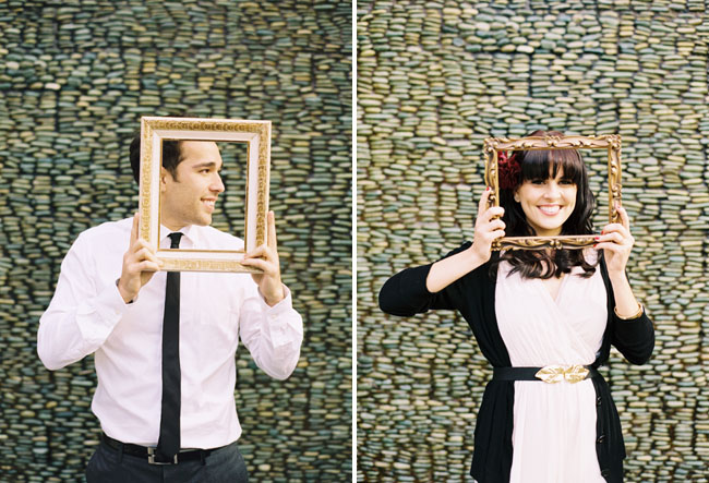 couple with frames
