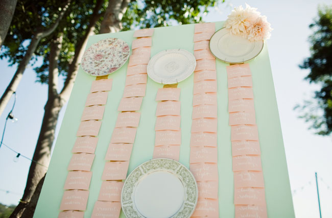 plate escort table