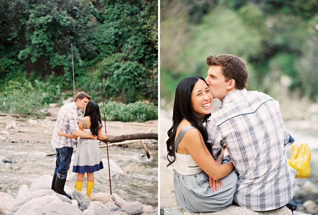 engagement photos in LA
