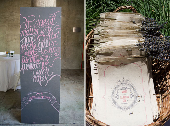 wedding programs with plantable paper