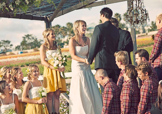outdoor wedding in Encinitas