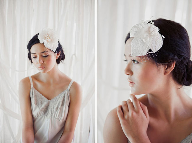 wedding hair pieces for the bride