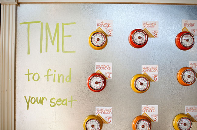 find your seat timer idea