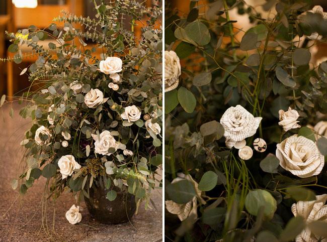 paper flowers roses