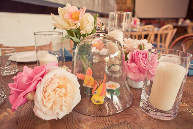 fun wedding table centerpieces