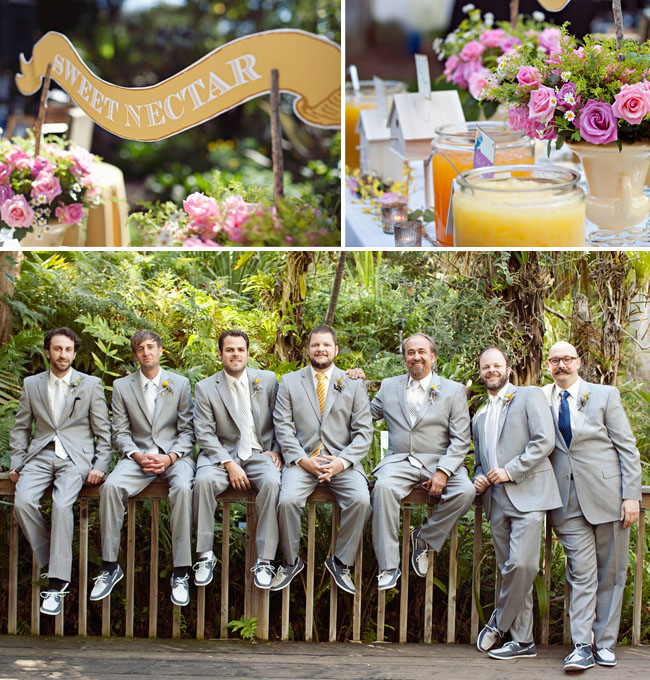 groomsmen grey tux