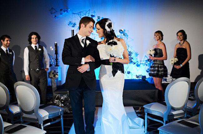 modern luxe wedding