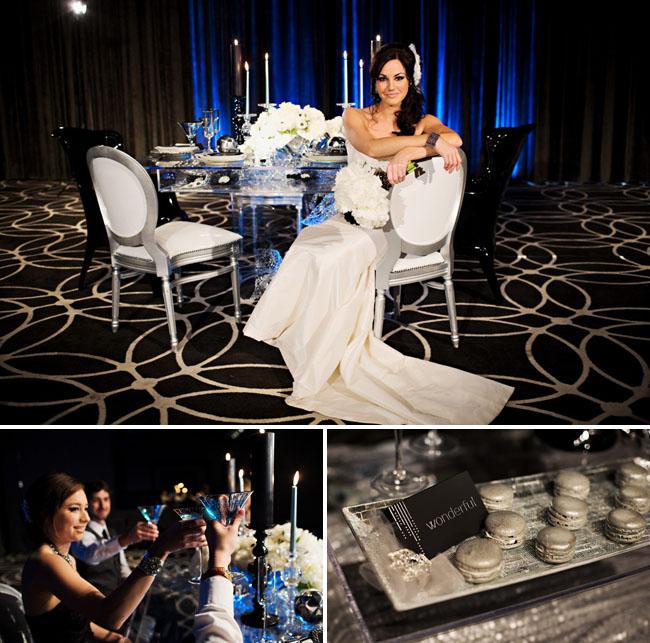 w hotel wedding reception los angeles