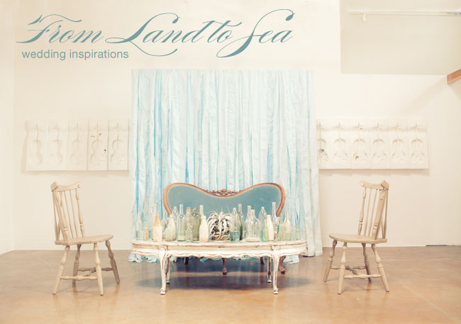 land to sea wedding inspiration