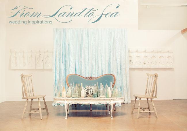 land to sea wedding inspiration