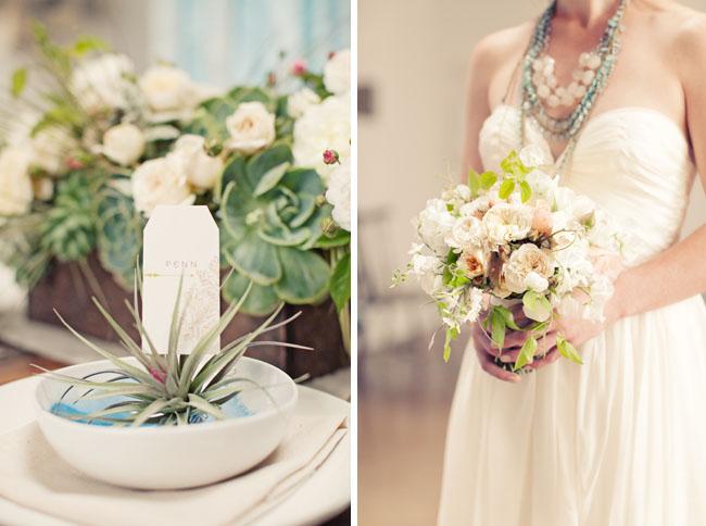 pretty romantic wedding bouquet