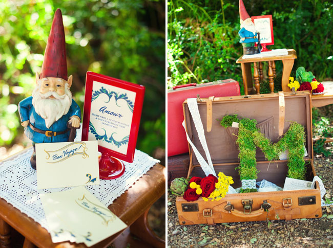 amelie wedding ideas gnome
