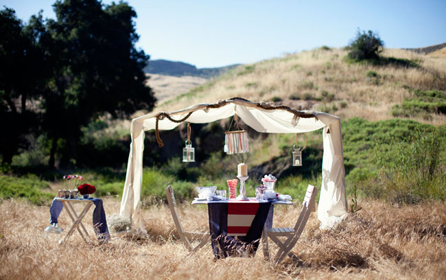 july 4th tent picnic