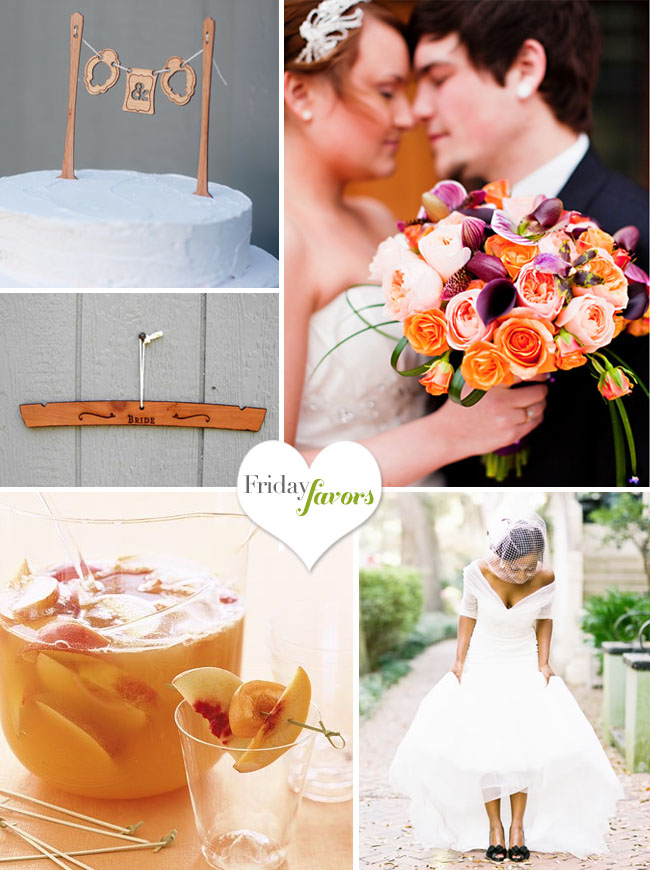 wooden bride hanger