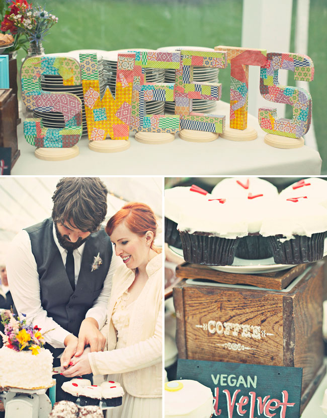 sweets wedding dessert table