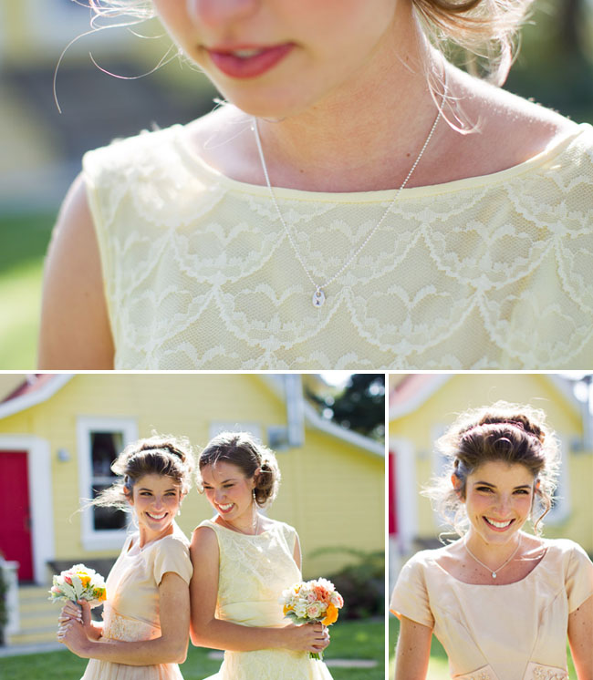 bridesmaids necklaces lisa leonard