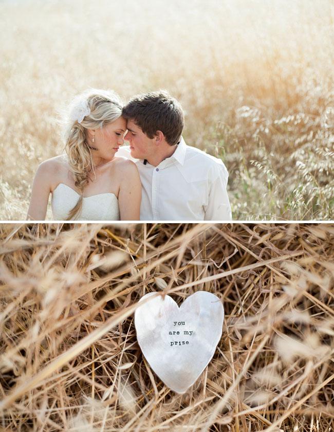 metal stamped heart wedding lisa leonard