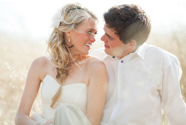 bride and groom photo