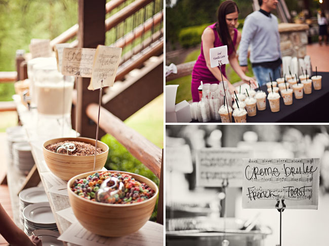 A rustic wedding filled with music allison nick green wedding music wedding ideas breakfast junglespirit Images