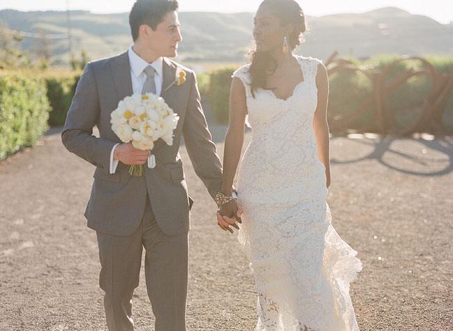 wedding photos on film