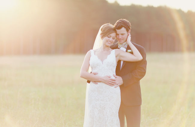 romantic wedding portraits