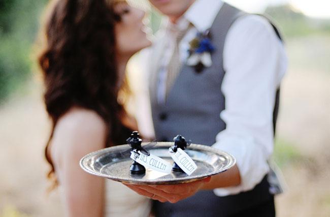twilight wedding chess pieces