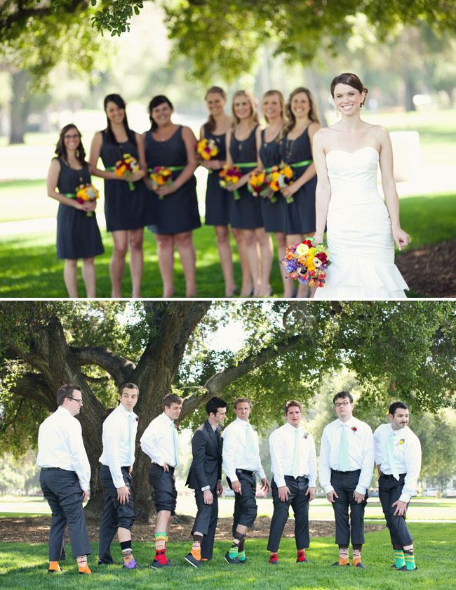 bridal party socks groomsmen