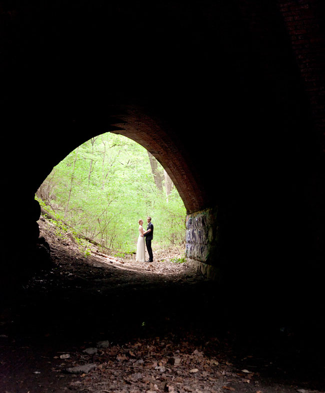 married under a tunnel